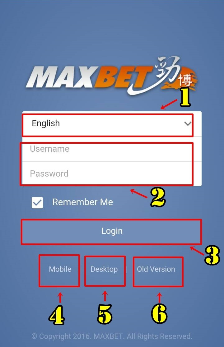 maxbet login